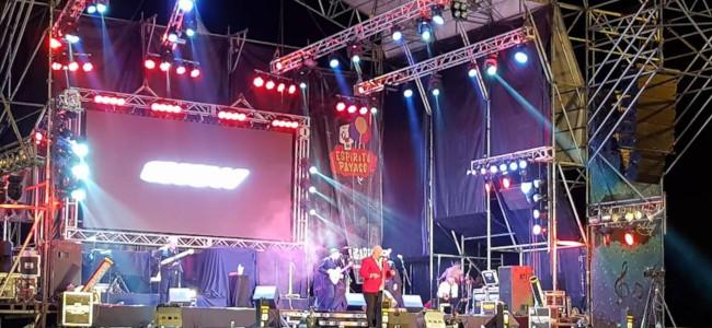 c3c904954 ... dio cita a la Rotonda Cruz de Piedra donde se montó el escenario para  festejar la tercera década de la ciudad fundada por Adolfo Rodríguez Saá en  1989